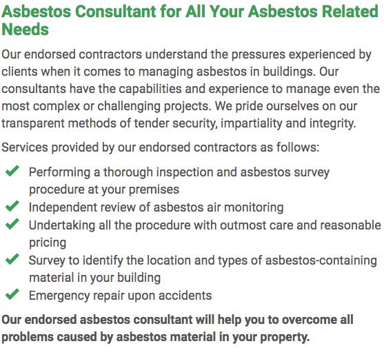 Asbestos Watch Rockhampton - consultant right
