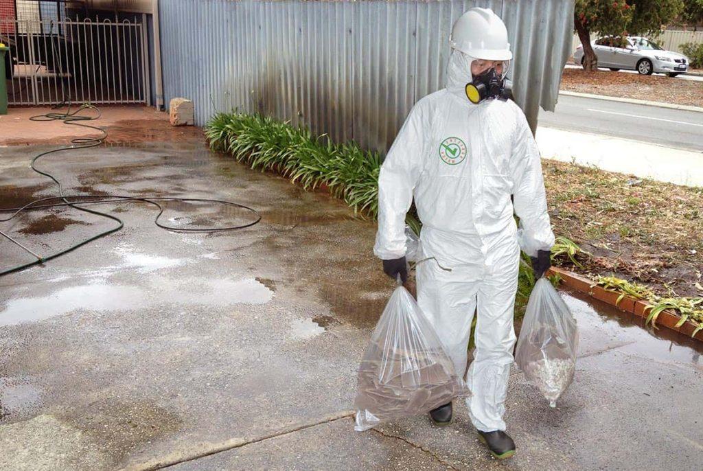 asbestos removal Rockhampton process